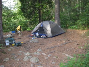Home sweet home in Algonquin Park.