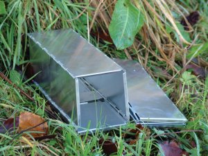 A Sherman trap - useful for live trapping small mammals in the field (and sometimes in your house).