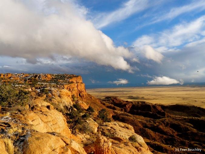 Vermillion Cliffs, the condor release site