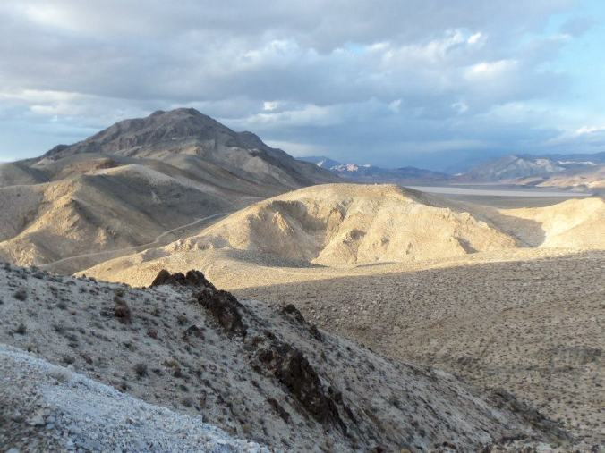 Not a bad office: the view from one of the monitoring sites in Death Valley National Park.