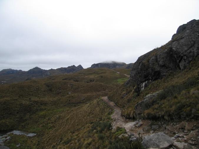 Cajas trail
