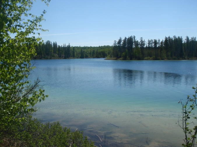 My favourite site, the sandy banks of this pretty little lake were an idyllic spot.
