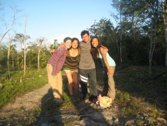 field team in Mexico